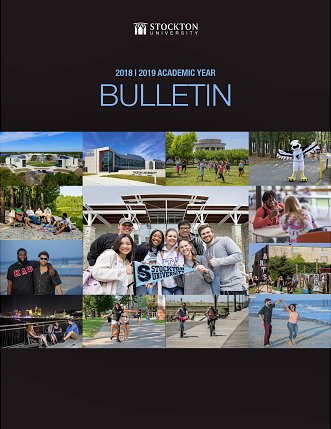 Cover page of Academic Bulletin