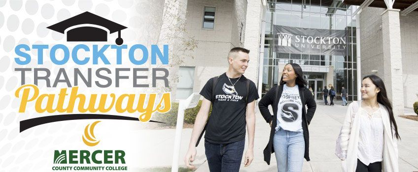 Stockton Transfer Pathways with Mercer County Community College
