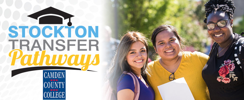 Stockton Transfer Pathways with Camden County College