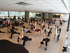 Dancers in Studio H104