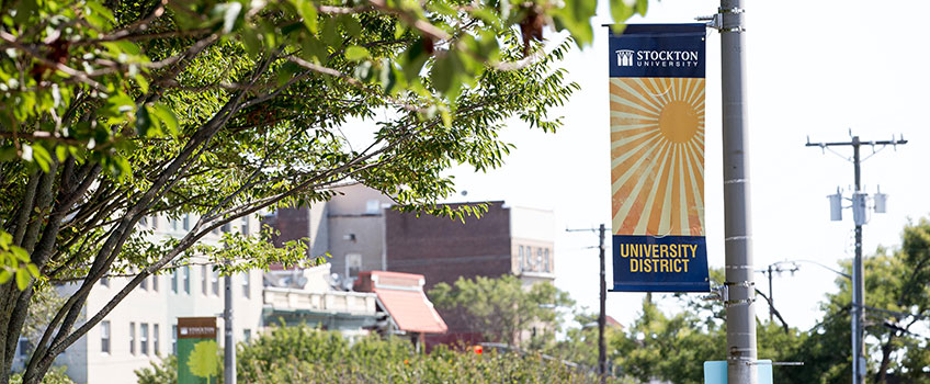 University District banner