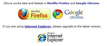 25Live Browsers