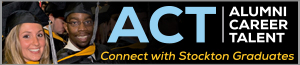 ACT - Alumni Career Talent, connect with Stockton graduates.