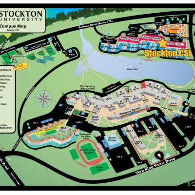 Stockton University Campus Map