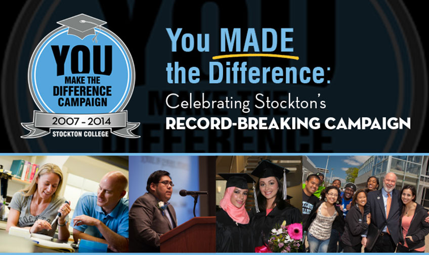 You Made the Difference: Celebrating Stockton's Record-Setting Campaign