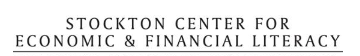 Stockton Center for Economic & Financial Literacy