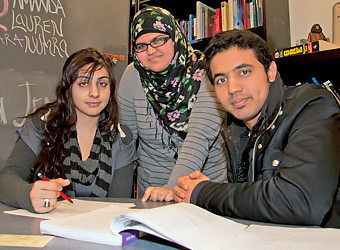 Tutoring Center Students