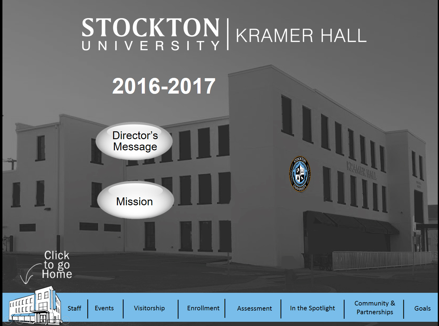 Image link to Kramer Hall Annual Report for 2016