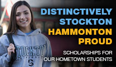 Distinctively Stockton Hammonton Proud Scholarship for Our Hometown Students