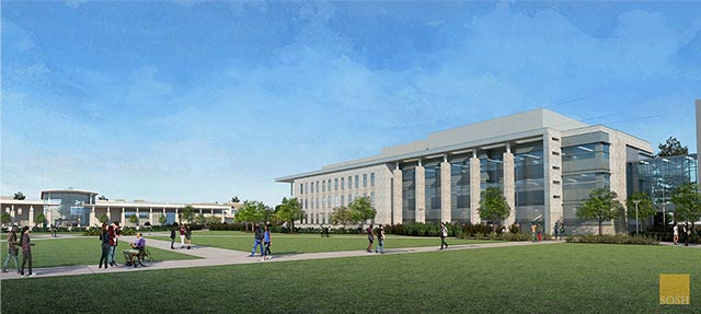 4th Academic Quad Building Rendering