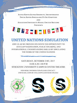 United nations Simulation Poster