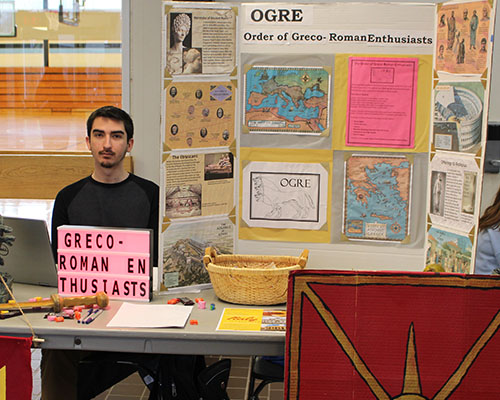 Club at the Get Involved Fair