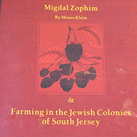 South Jersey Culture & History Center Publishes 'Migdal