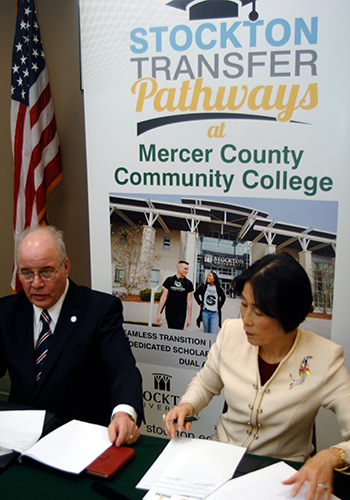 mercer countyy college agreement