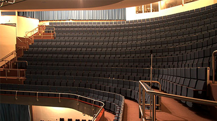 Inside the Performing Arts Center Theater