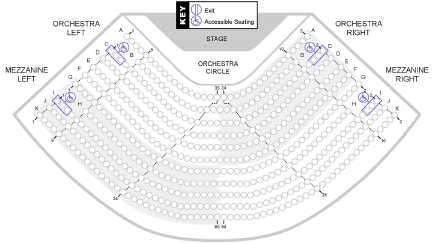 Pac Seating Chart