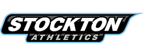 Full color Athletic wordmark with PMS 292, 123, Black and White