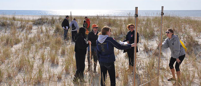 Marine Science Students Field Research