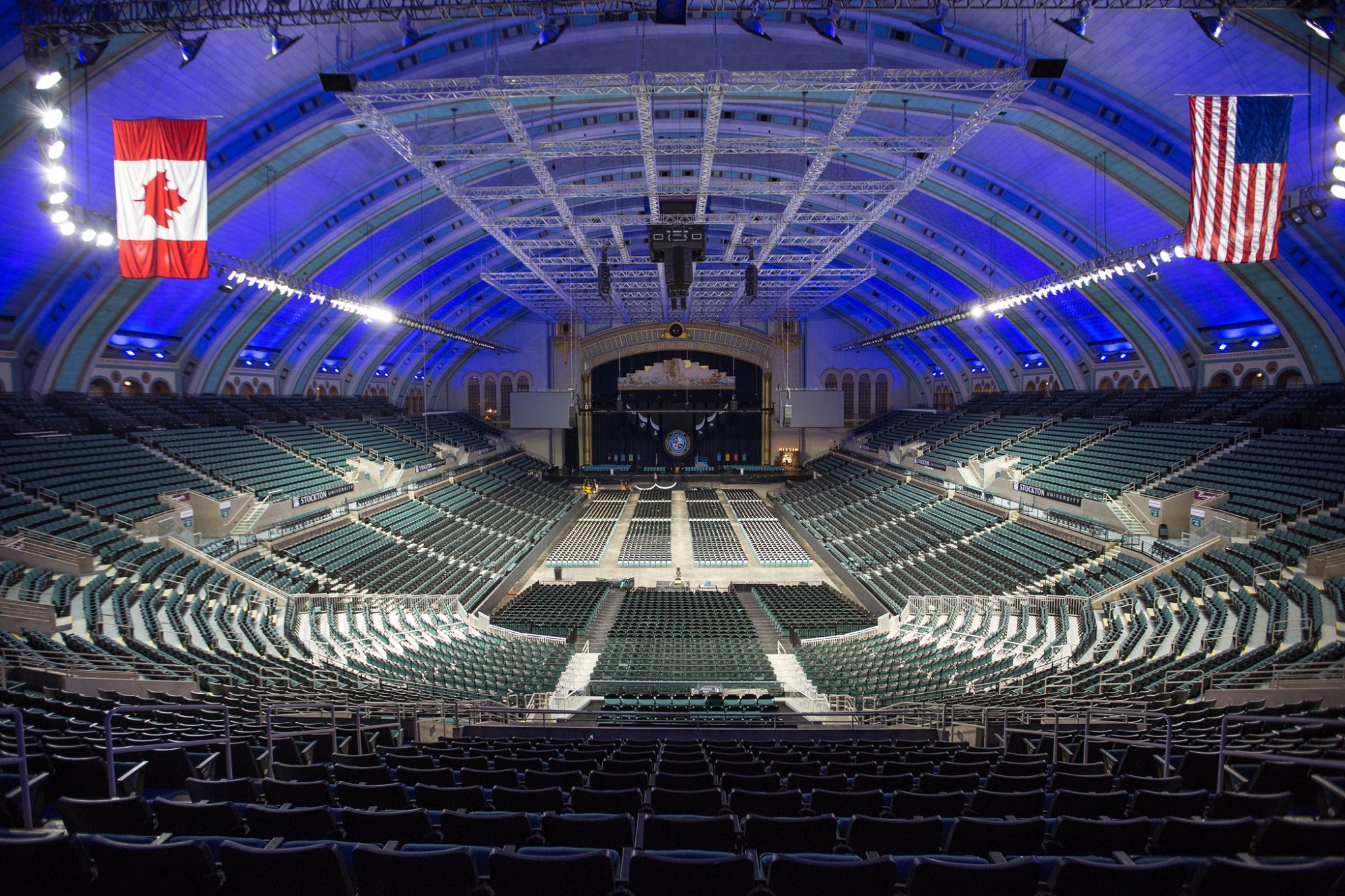 empty Boardwalk Hall