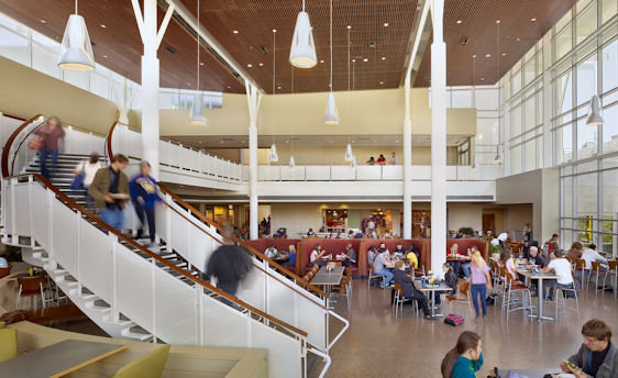 Photo of the Campus Center