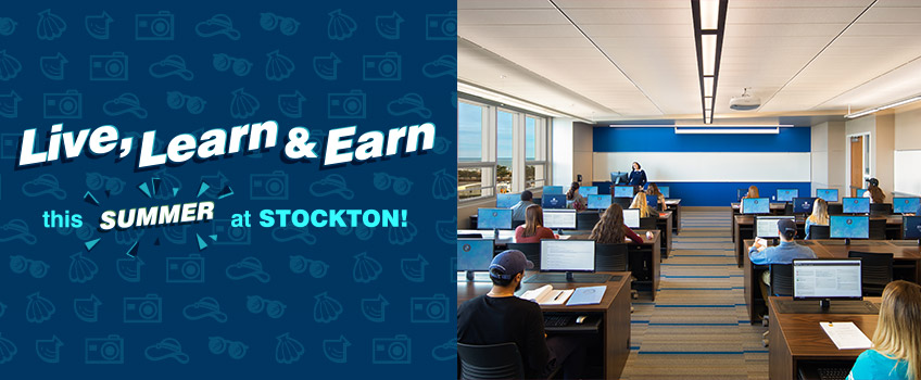 Live, Learn and Earn this Summer at Stockton